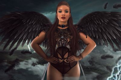 Warrior Angel Halloween