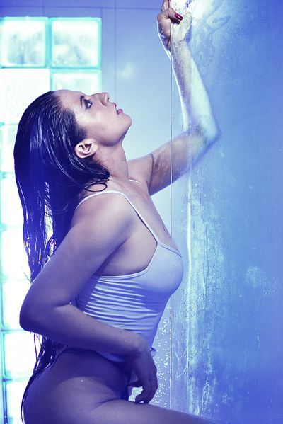 shower..