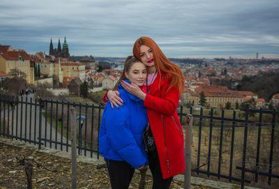 Im and my AnneWildBB in Prague!